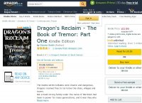 Dragons Reclaim - The Book of Tremor: Part One