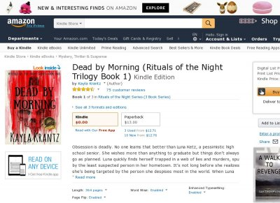 Dead by Morning Rituals of the Night 1