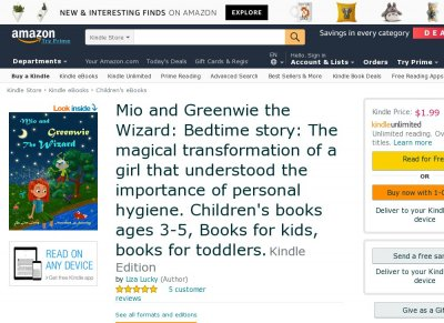 Mio and Greenwie the Wizard