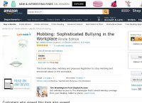 Mobbing - Sophisticated Bullying in the Workplace