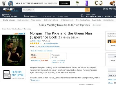 Morgan--The Pixie and the Green Man