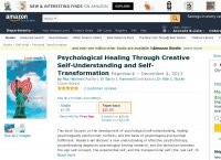 Psychological Healing Through Creative Self-Understanding and Self-Transformation