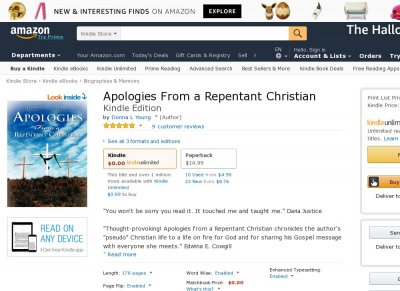 Apologies From a Repentant Christian