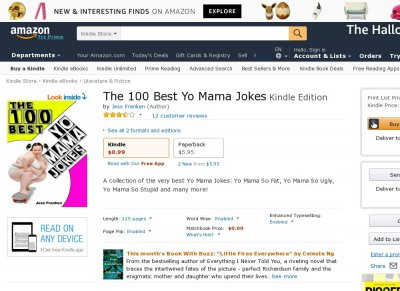 The 100 Best Yo Mama Jokes