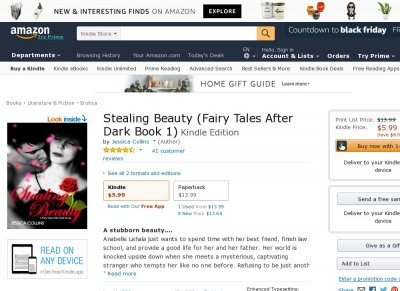 Stealing Beauty - A Fairy Tales After Dark novel
