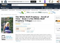 The White Wolf Prophecy - Scroll of Time - Book 3