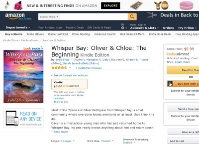 Whisper Bay - Oliver and Chloe, The Beginning