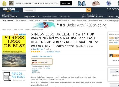 How to Relieve Stress Naturally and Stop Worrying in Minutes