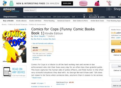 Comics for Cops