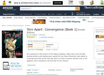 Torn Apart Convergence Book 1