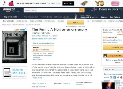 The Penn - A Horror Short Story
