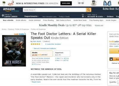 The Foot Doctor Letters A Serial Killer Speaks Out