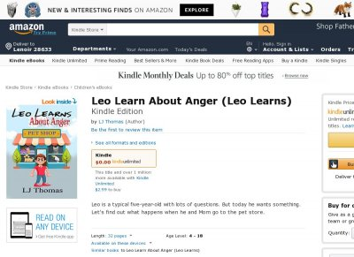 Leo Learns About Anger