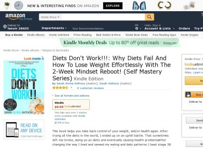 Diets Don't Work Self Mastery Series