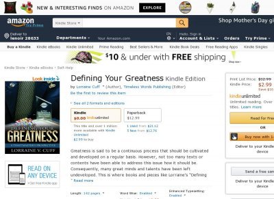 Defining Your Greatness