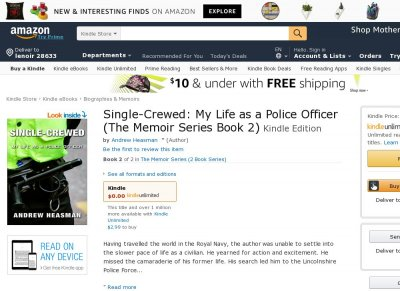Single-Crewed My Life as a Police Officer