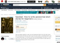 Spooked How to write paranormal short stories