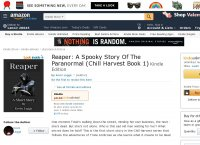 Reaper A Spooky Story Of The Paranormal Chill Harvest Book 1