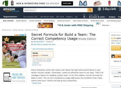 Secret Formula for Build a Team The Correct Competency Usage