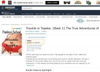 Trouble in Topeka Book 1 The True Adventures of Ms. Lola MountJoy traveling nurse