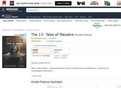 The 13 Tales of Macabre